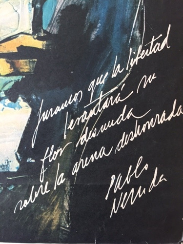 pablo neruda guayasamin cartel quimantu 1971