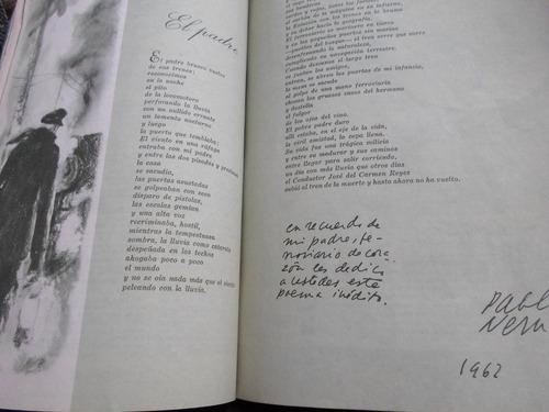 pablo neruda - poema    mi padre  - inedito - otros