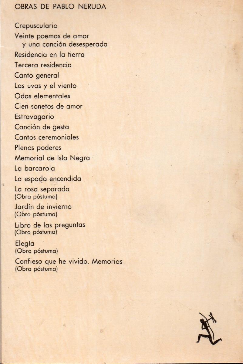 Pablo Neruda Veinte Poemas De Amor Y Una Canción Desesperada 15000