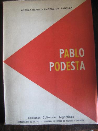 pablo podestá. angela blanco amores. teatro