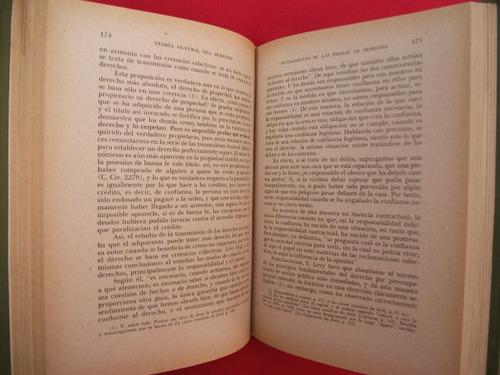 pablo roubier, teoría del derecho