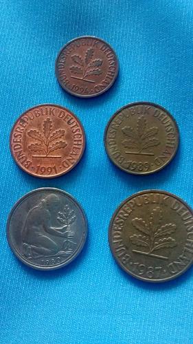 pac 5 - moedas alemanha