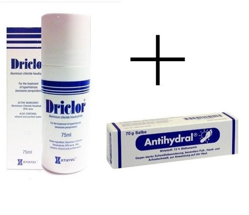 pac antihydral 70gr + driclor 75ml - belo horizonte