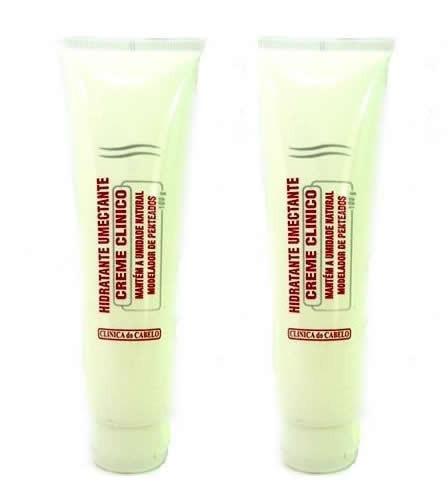 pac c/ 2 hidratante umectante mantém umidade natural cabelos