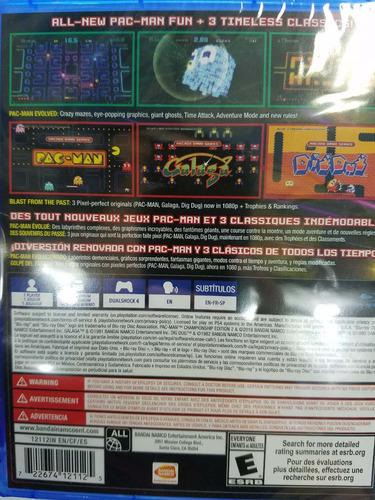 pac-man championship edition 2 + arcade game series ps4