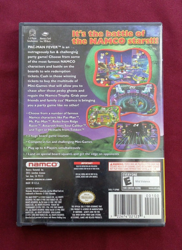 pac-man fever game cube garantizado