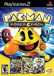 pac-man power pack ps2 nuevo y sellado de colección