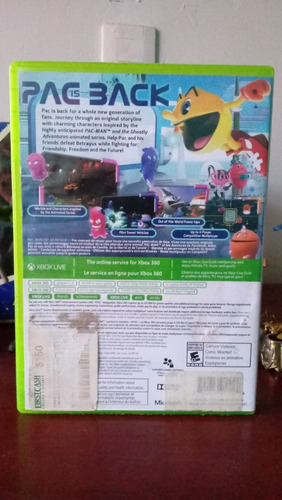 pac-man y the ghostly adventures xbox 360 - demon games