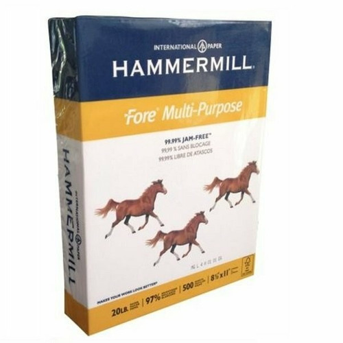 paca resma carta hammer mill * 75 gr
