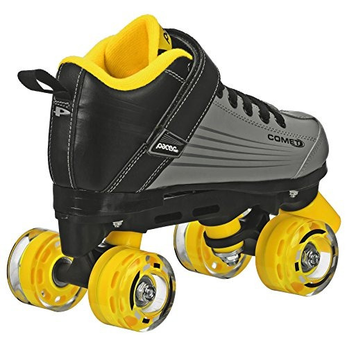pacer comet quad kids patinador de ruedas, con light up whee