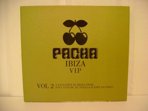 pacha - cds pacha ibiza vip vol.2 imperdibles!!!