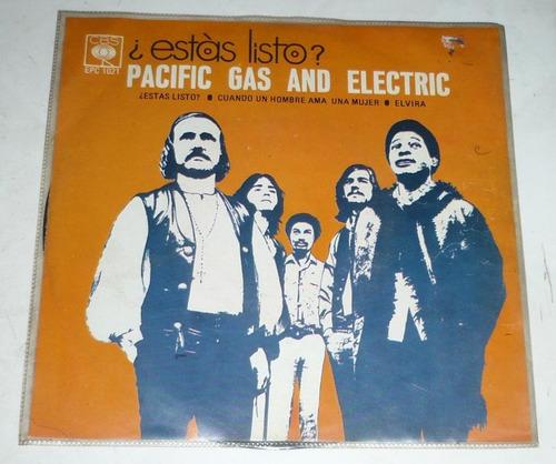 pacific gas and electric ep ¿estas listo?