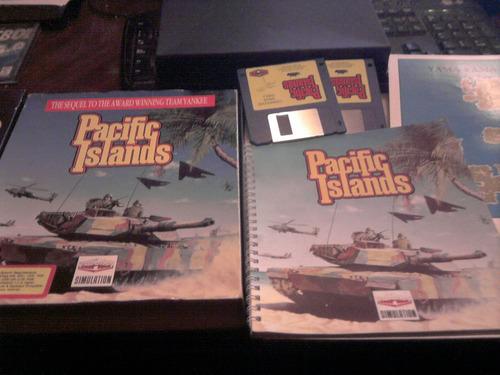 pacific islands juego amiga2 diskettes edicion alemana