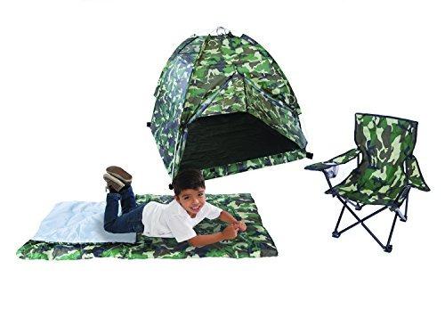 pacific play tents kids green camo dome tienda de campaña...