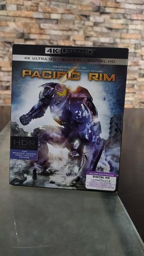 pacific rim 4k ultrahd + blu ray original