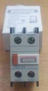 pack 1 contactor 12a + 1 aux. 1na + 1nc 24vca + 1 trafo 24v