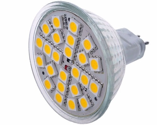 pack 10 ampolleta led mr16 ahorro energía 5w