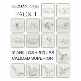 7105d6ed3355 Combo Anillo Plata Por Mayor - Joyas y Relojes en Mercado Libre Argentina