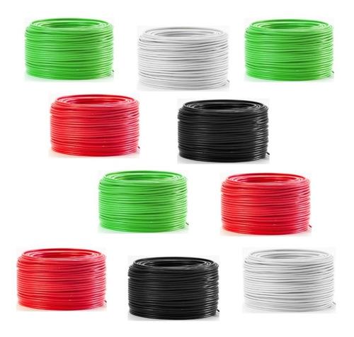 pack 10 cajas cable electrico calibre 12 con 100 metros
