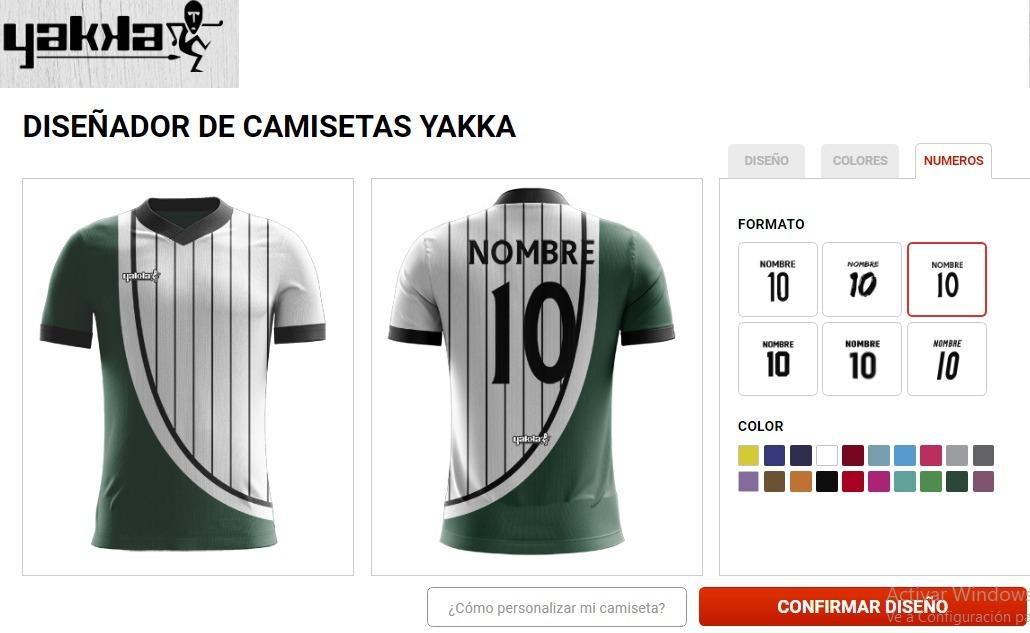 pack 10 camisetas de futbol y shorts a pedido yakka. Cargando zoom. 8519070abbc3c