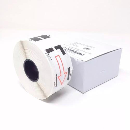 pack 10 cinta continua rollo dk11221 23mmx23m ql-700 qi-570
