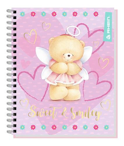 pack 10 cuadernos universitario rhein forever friends