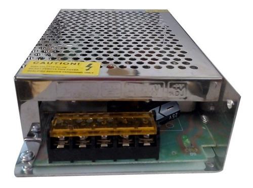 pack 10 fuente switching 12v 8a metal tira led cctv camaras