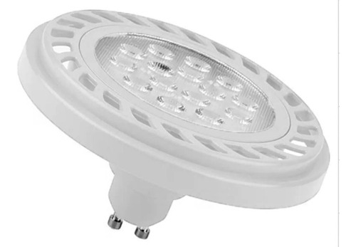 pack 10 lampara ar111 halospot led 11w 12w frias calidas garantia 2 años x defectos fabrica !!