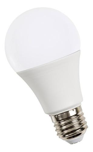 pack 10 lampara led 7w = 40w foco casa e27 1 año gtia a60