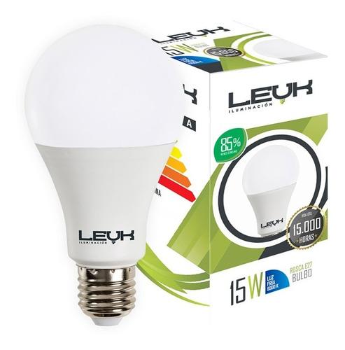 pack 10 lamparas led foco 220v casa 15w 14w blanco e27