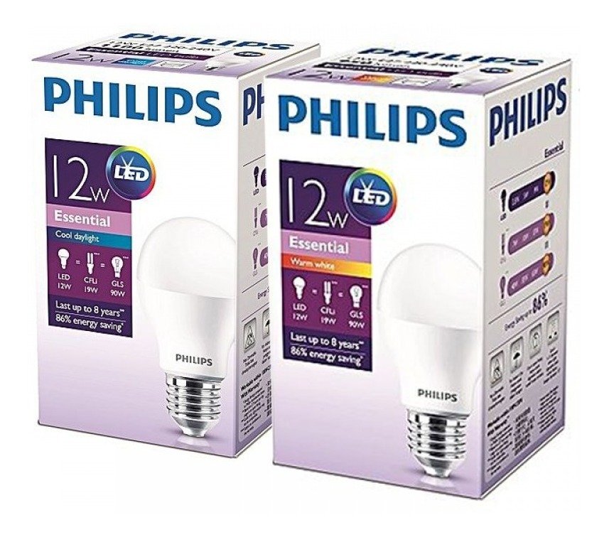 Led 12w Blanco Linea Essence Frio Pack 10 Philips Lamparas lcJTF1K