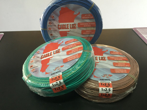 pack 10 llaves de luz punto y toma y 3 rollos cable 2,5mm