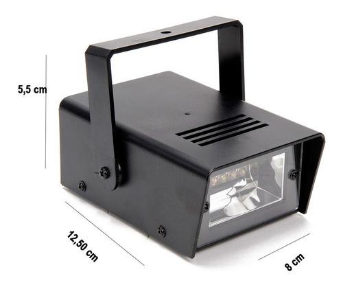 pack 10 luces fiesta corta imagen estroboscópica / disparocl