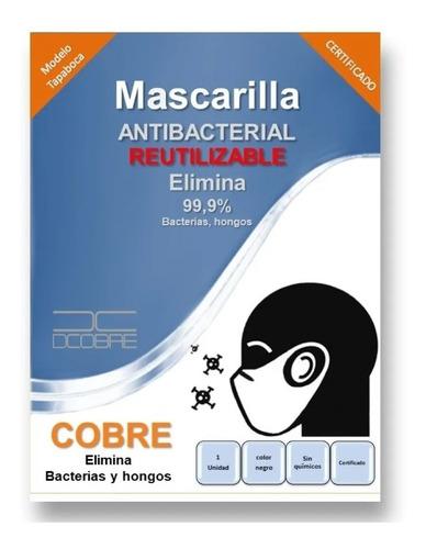 pack 10 mascarilla con cobre couretex lavable & reutilizable