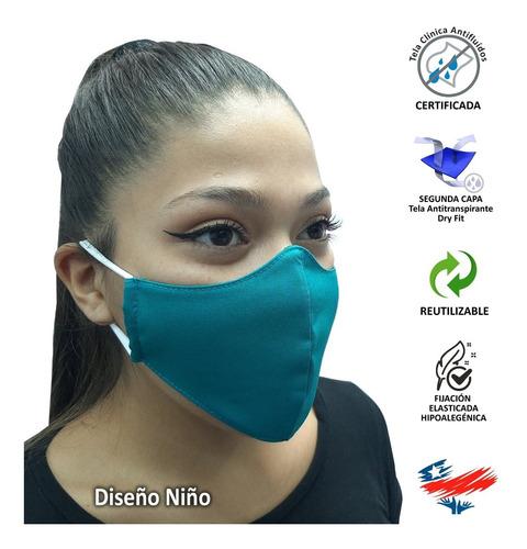 pack 10 mascarillas antifluidos y segunda capa dry fit