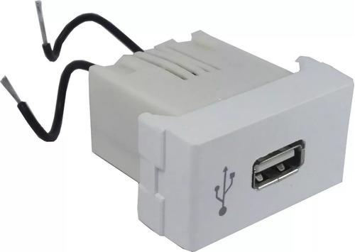 pack 10 modulo usb simple   para llaves de luz jeluz