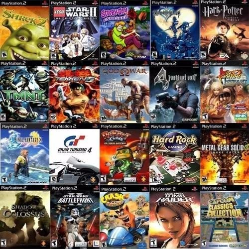 Pack 10 Patchs Playstation 2 Ps2 Games Jogos