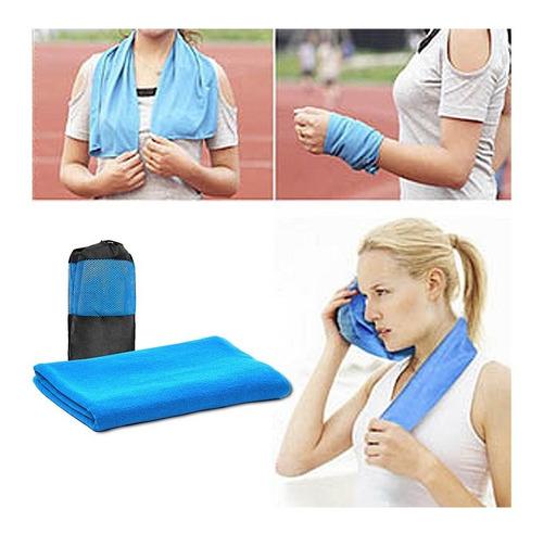 pack 10 toallas microfibra 120x80 cms con bolso de regalo