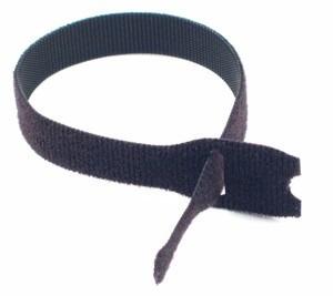 pack 10 unidades cinta velcro 20cm negro envio gratis
