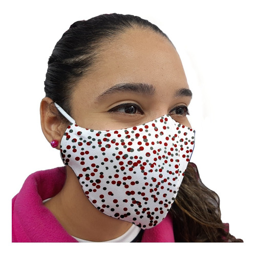 pack 100 mascarillas tela clinica antifluidos reutilizable
