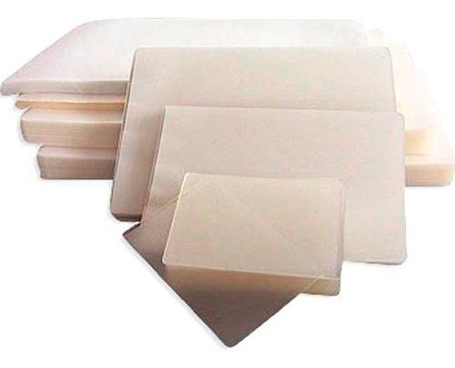 pack 100 micas laminas carnet termolaminadora plastificadora