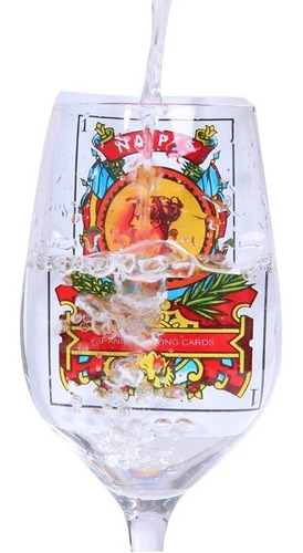 pack 100 naipe español cartón plastificado / 205001