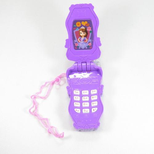 pack 12 celulares con luz y sonido frozen minnie spiderman