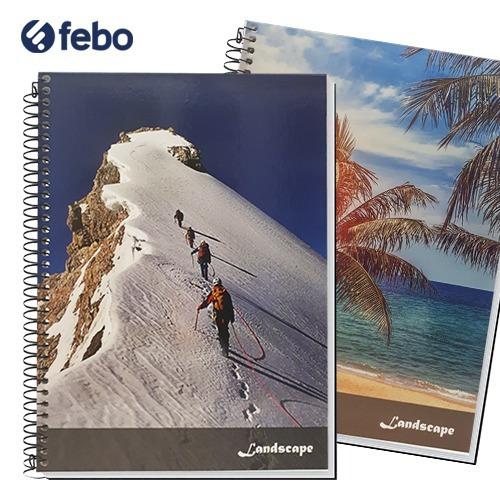pack 12 cuadernolas rayada tapa blanda credeal 96 hojas