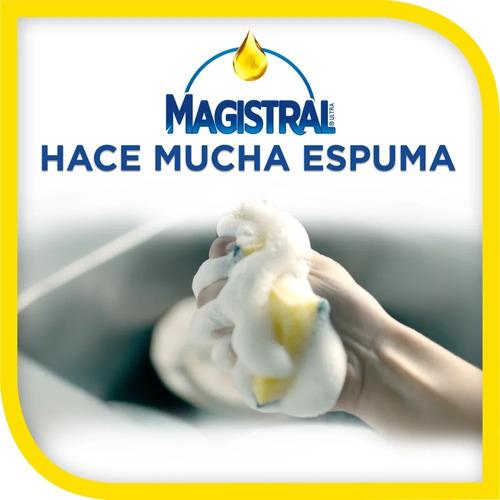 pack 12 lavaloza concentrado magistral limón 750 ml