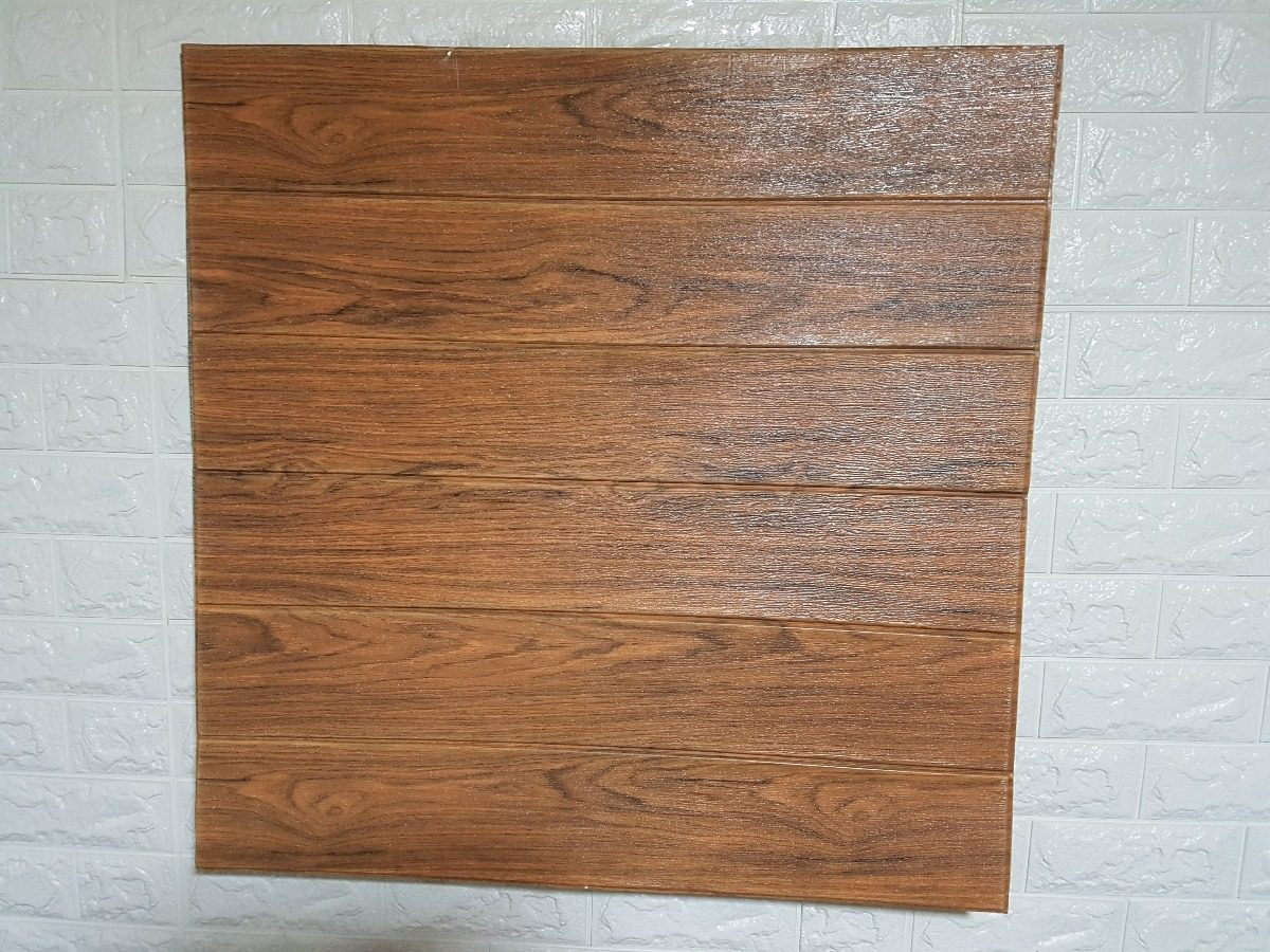 Pack 12 panel 3d madera mural decoraci n pared bazar - Panel madera pared ...