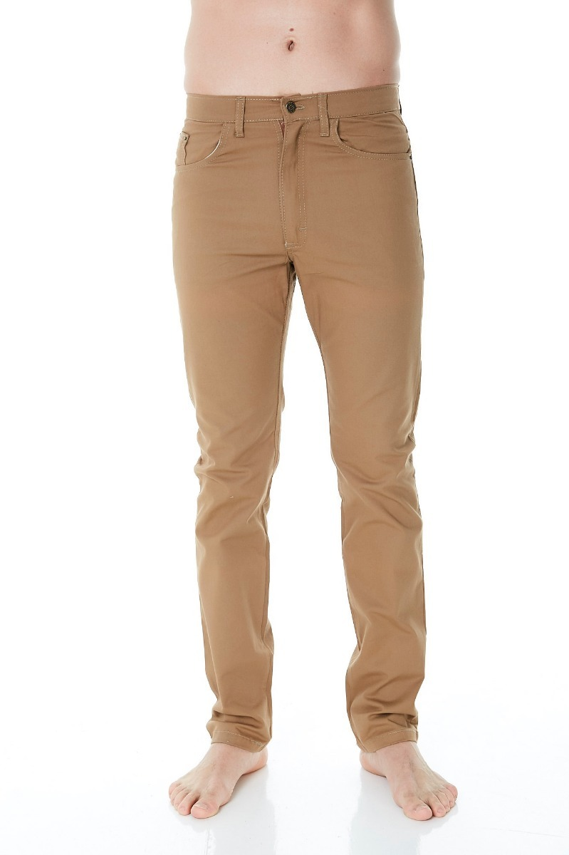 el más nuevo a1ccd 438a7 Pack 12 Pantalones Gabardina Camel Hombre 38 Al 48 Rogers