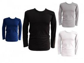 12 Polar Pack Camiseta Polera Grueso Invierno Hombre nwm0Ov8N