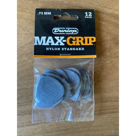 Pack 12 Puas Dunlop Max-grip 0,73mm