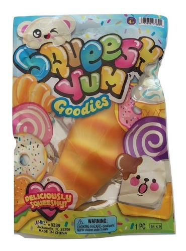 pack 12 squeeshy yum squishy originales  / ringastore